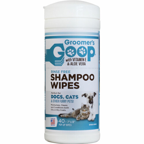 Groomers Goop Shampoo Wipes 40 count