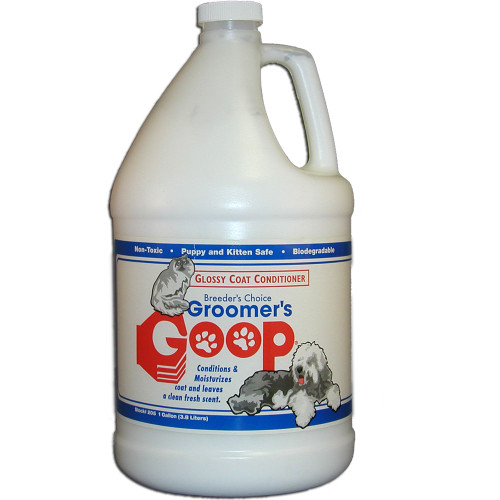 Groomers Goop Glossy Coat Conditioner - Gallon with Pump