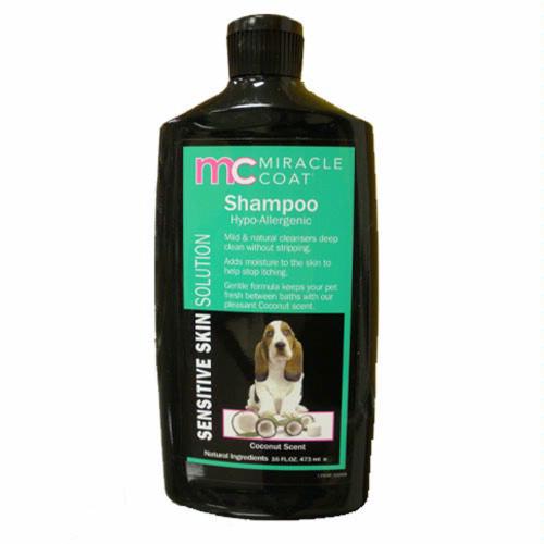 Miracle Coat Sensitive Hypoallergenic Shampoo 16oz