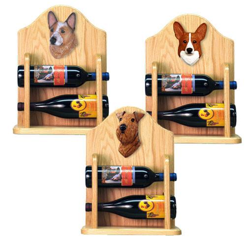 Wine Rack 2 Bottle Design in Light Oak by Michael Park