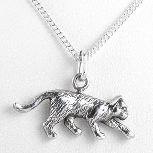 Fine Arf Cat Charm Necklaces