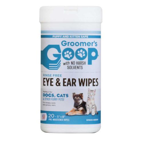 Groomers Goop Pet Ear and Eye Wipes