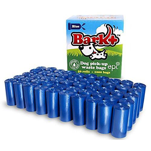 Bark Plus Bio Bags Value Pack BLUE