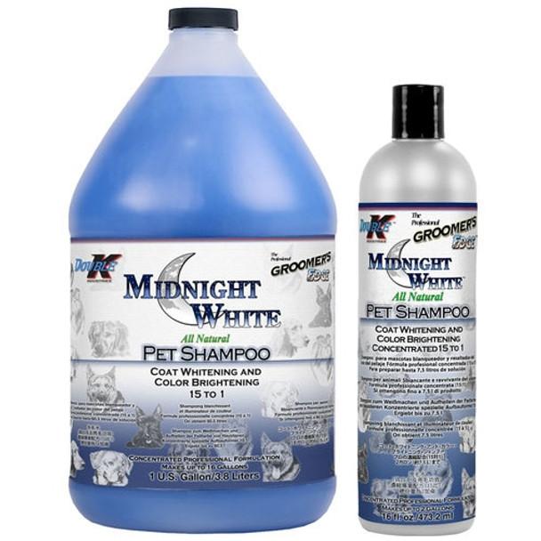 Double K Groomers Edge Midnight White Shampoo