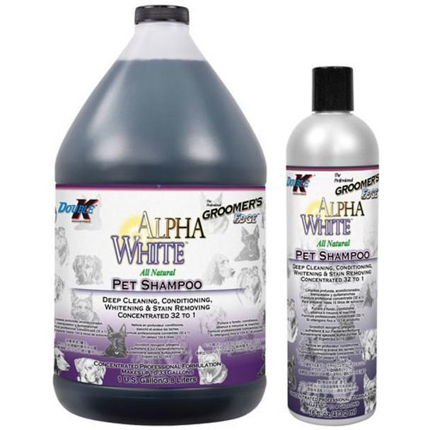 Double K Groomers Edge Alpha White Shampoo