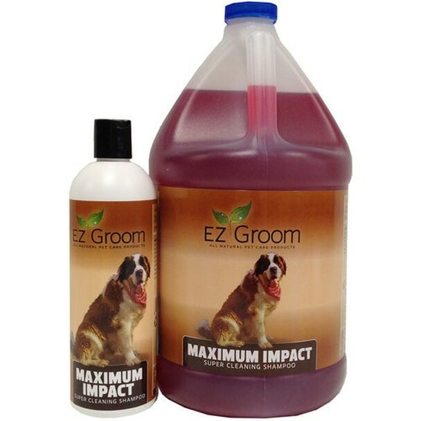 EZ Groom Maximum Impact Dog Shampoo - Concentrated