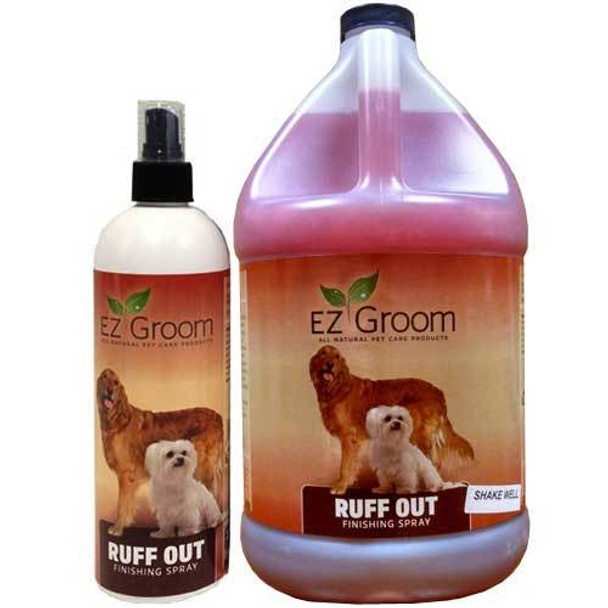 EZ Groom Ruff Out Finishing Spray - Ready To Use