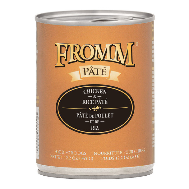 Fromm Pate Chicken and Rice Canned Dog Food