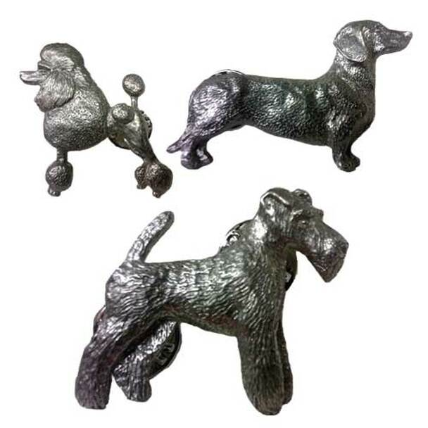 George Harris Dog Breed Pewter Pin