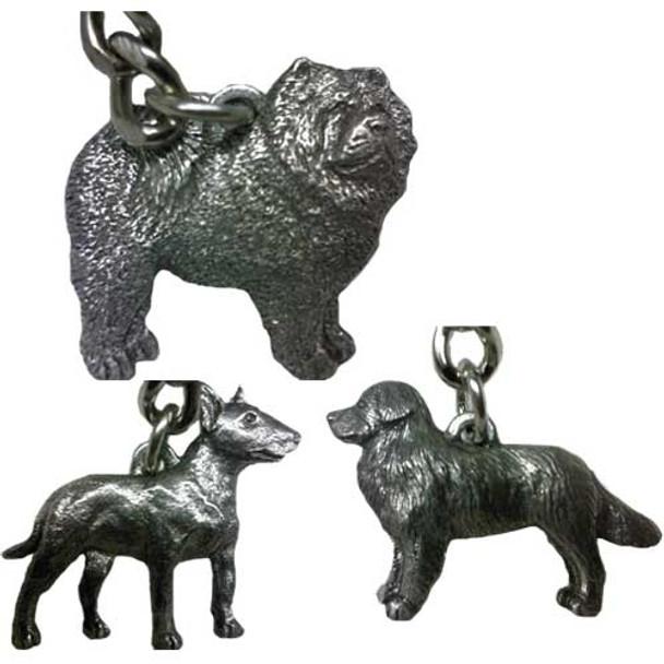 George Harris Dog Breed Keychains