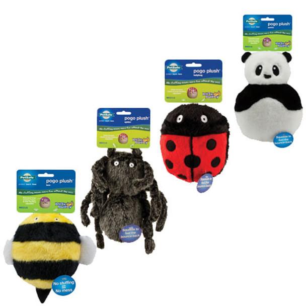 Pogo Plush Dog Toys