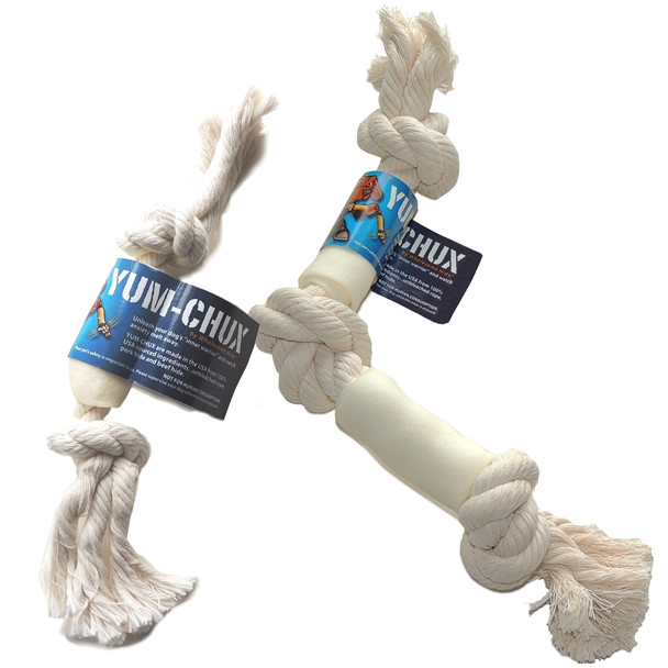 Wholesome Hide Yum-Chux Rope Toy