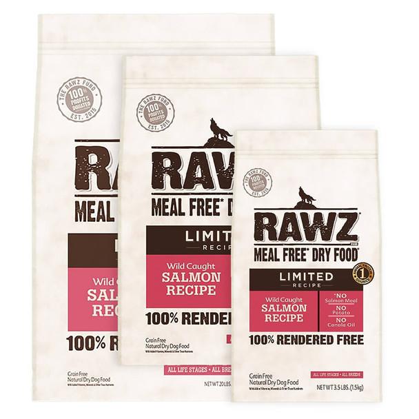 RAWZ Limited Salmon Dry Dog Food