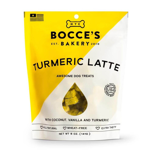Bocces Bakery Limited Edition Tumeric Latte Biscuits