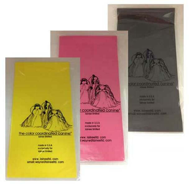 Colored Plastic Wraps - Long