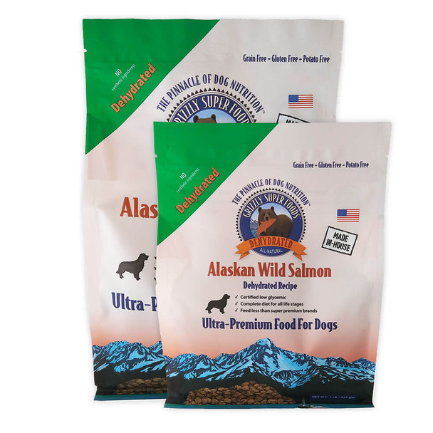 Grizzly SuperFoods Dehydrated Salmon Dog Food