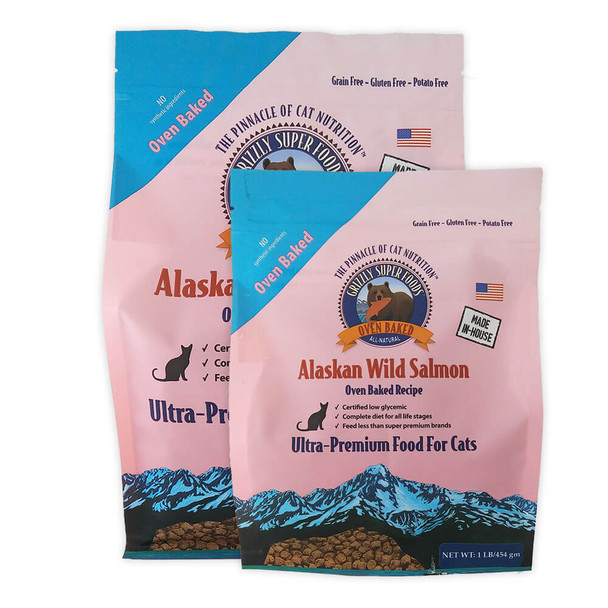 Grizzly SuperFoods Oven Baked Salmon Cat Food