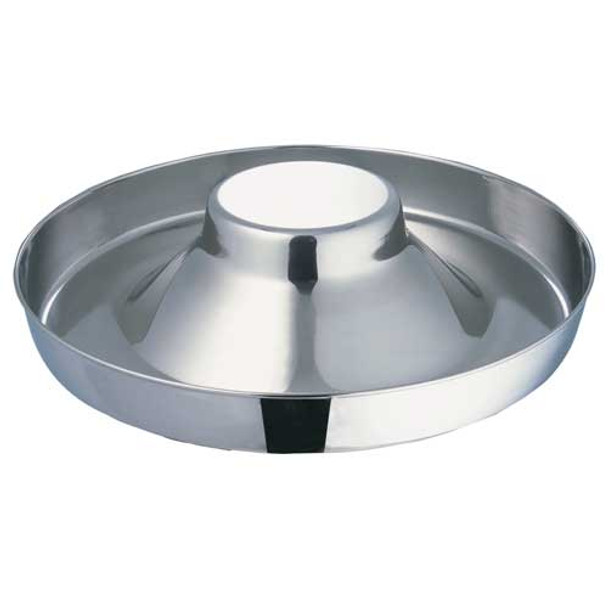 Stainless Steel Puppy Saucer with Dome