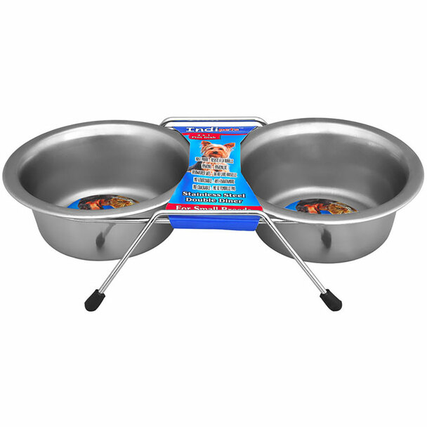 Stainless Steel Double Diner