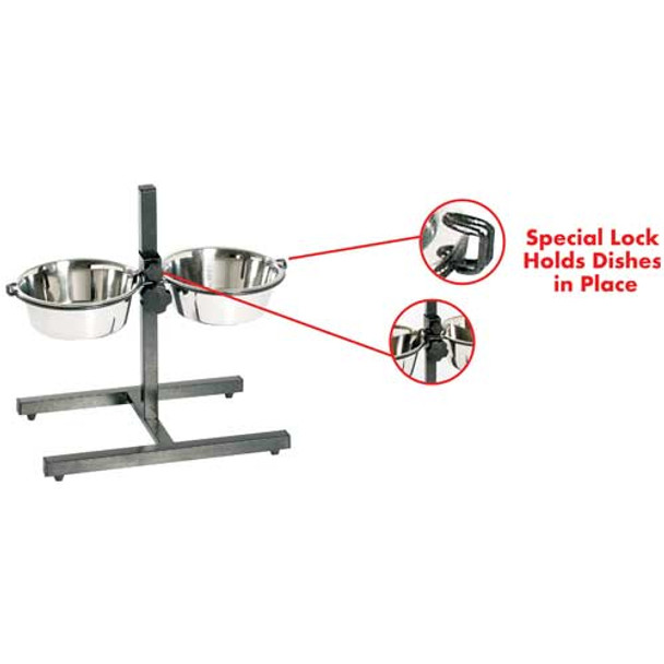 Stainless Steel Adjustable Double Diner