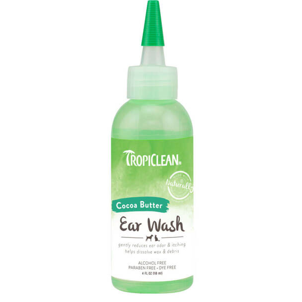 TropiClean Alcohol Free Ear Wash for Pets