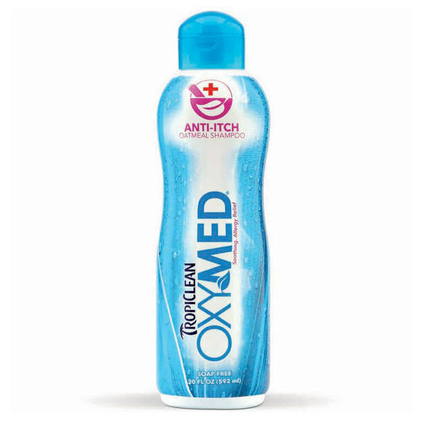 TropiClean Oxy-Med Anti Itch Pet Shampoo