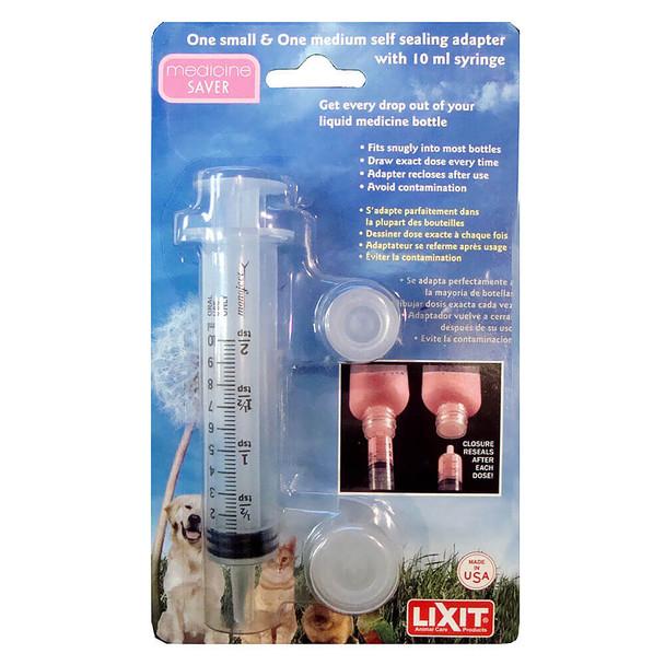 Lixit Medicine Saver Syringe Adapter Set