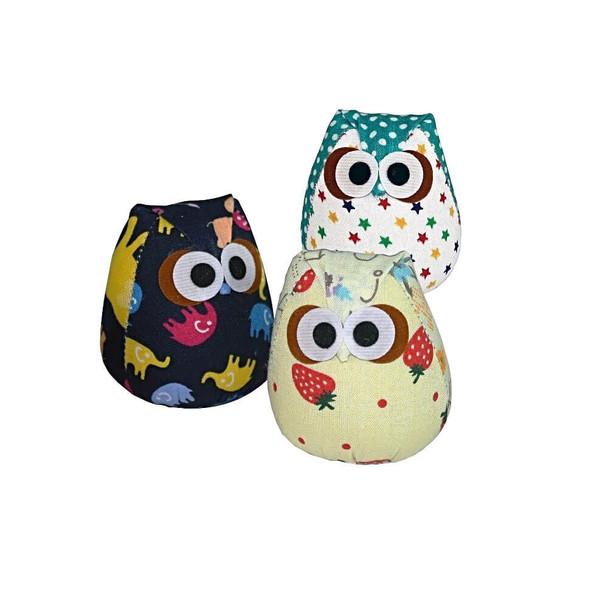 Goli Design Nip-Naps Owli Catnip Toy - Assorted