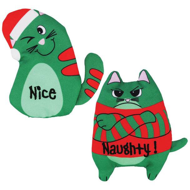 KONG Holiday Refillables Purrsonality Catnip Toy