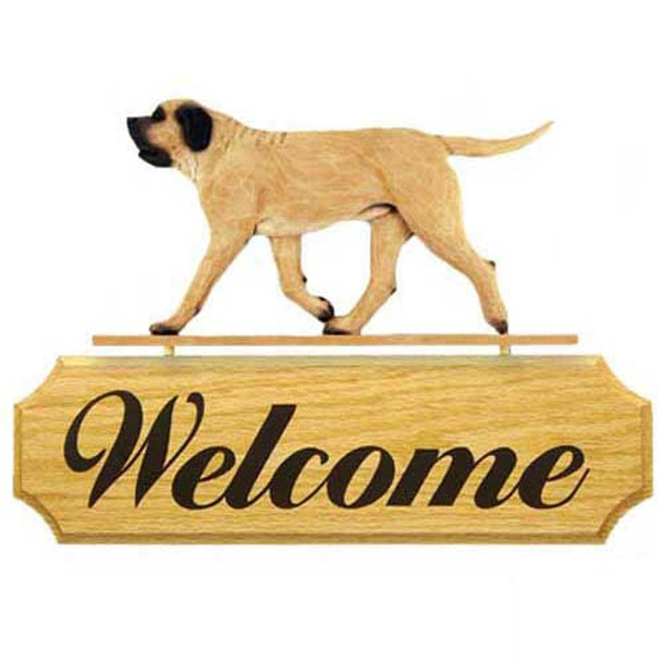 Michael Park Dog In Gait Welcome Signs