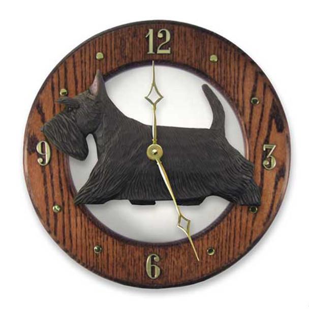 Wall Clocks in Dark Oak by Michael Park