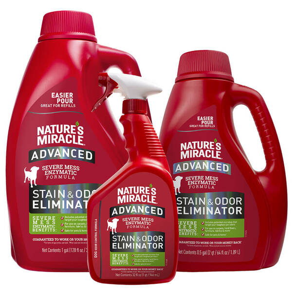 Natures Miracle Advanced Stain and Odor Remover