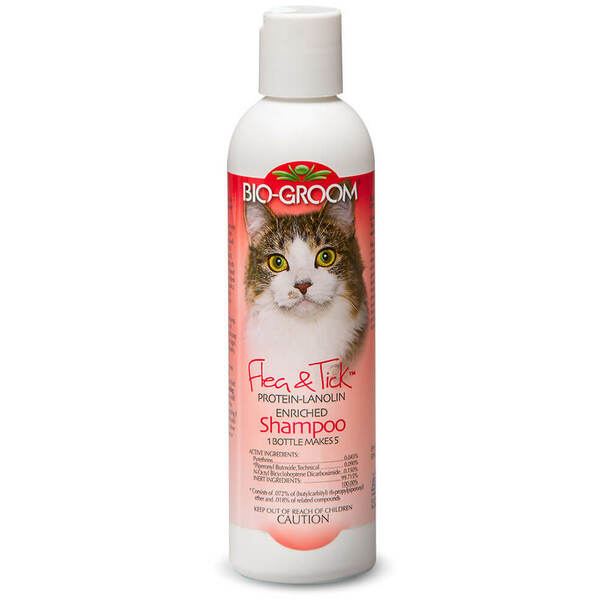 Bio-Groom Flea and Tick Shampoo for Cats