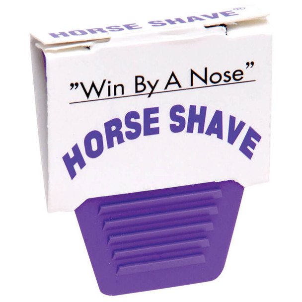 Win By A Nose Horse Shave Single Disposable Razor