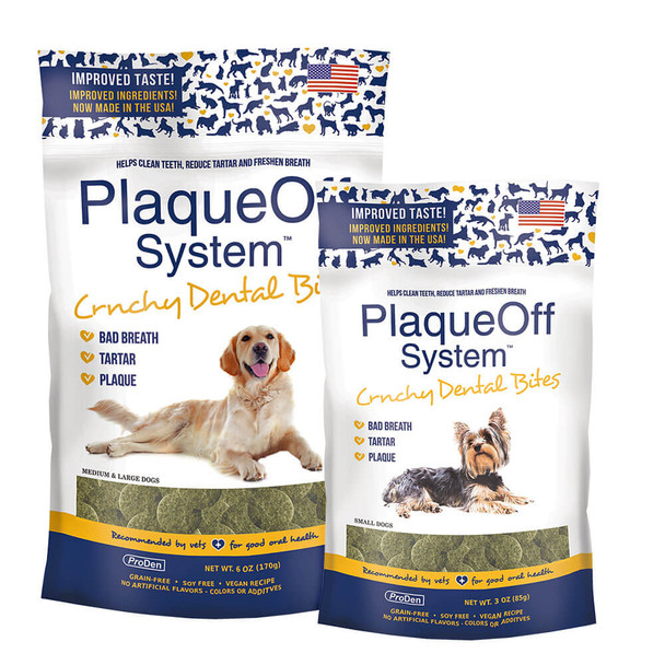 ProDen PlaqueOff System Dental Bites for Dogs