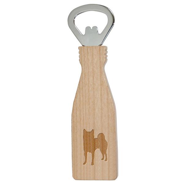 Cherrybrook Laser-Engraved Maple Bottle Opener