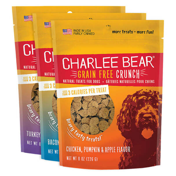 Charlee Bear Crunch Treats 8 ounce