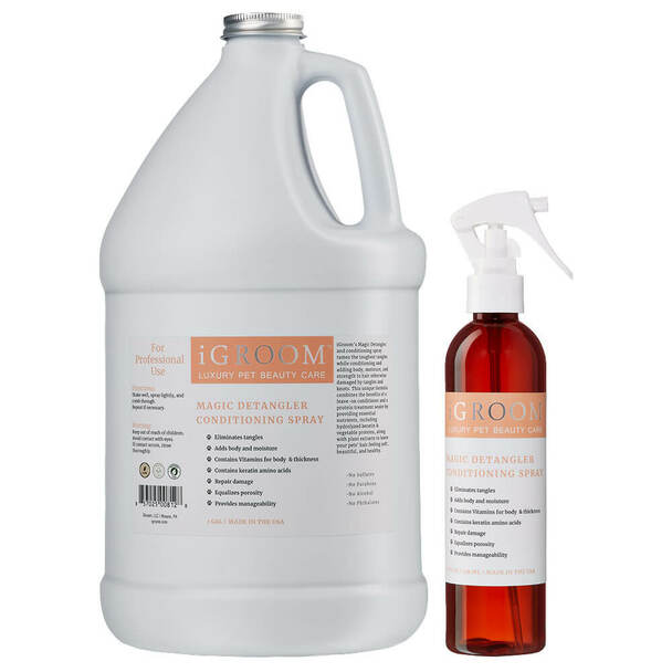 iGroom Magic Detangler Conditioning Spray