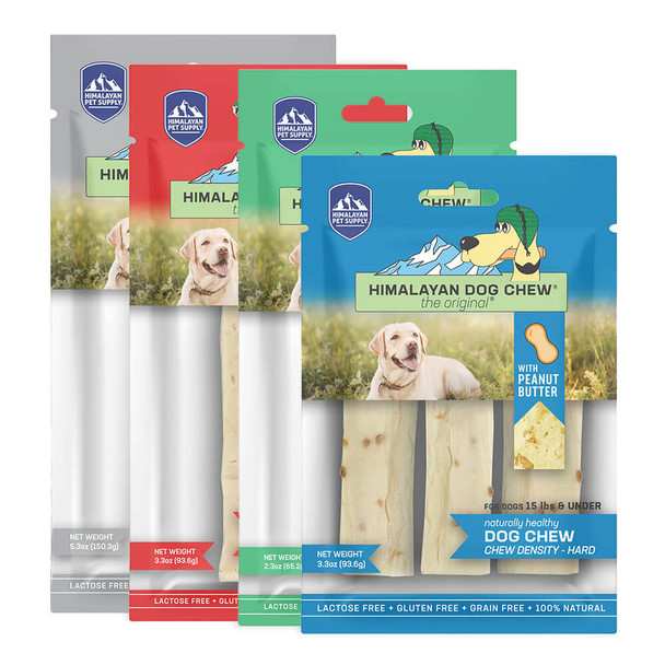 Himalayan Dog Chew - Original Cheese With Peanut Butter