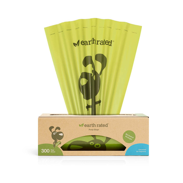 Earth Rated Poop Bags 300ct Unscented