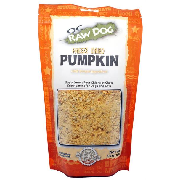 OC Raw Freeze-Dried Pumpkin 5.5oz