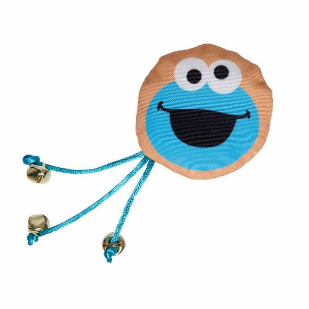 Pet Krewe Sesame Street Cookie Monster Cat Toy