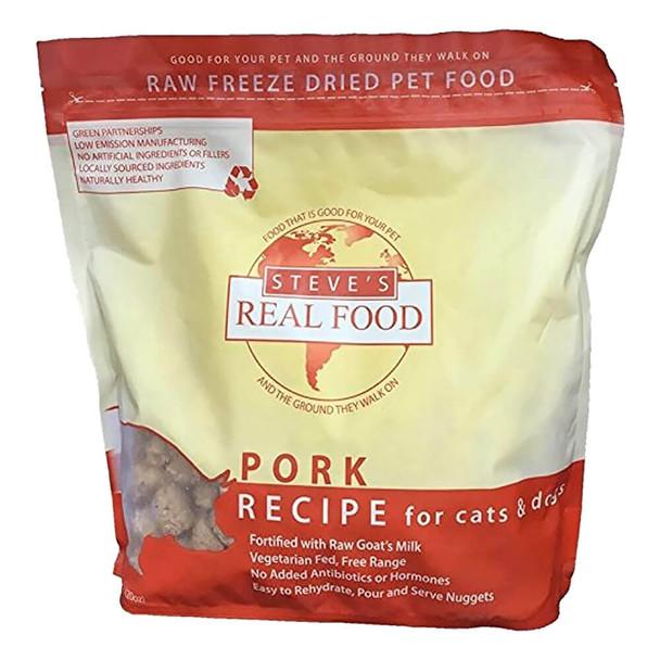 Steves Real Food Freeze Dried Nuggets Pork