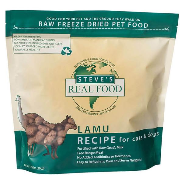 Steves Real Food Freeze Dried Nuggets Lamu