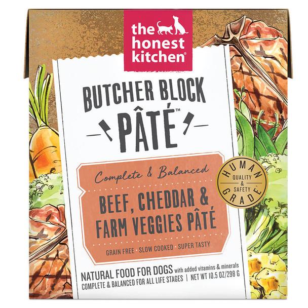 The Honest Kitchen Butcher Block Beef Pate 10.5oz Carton