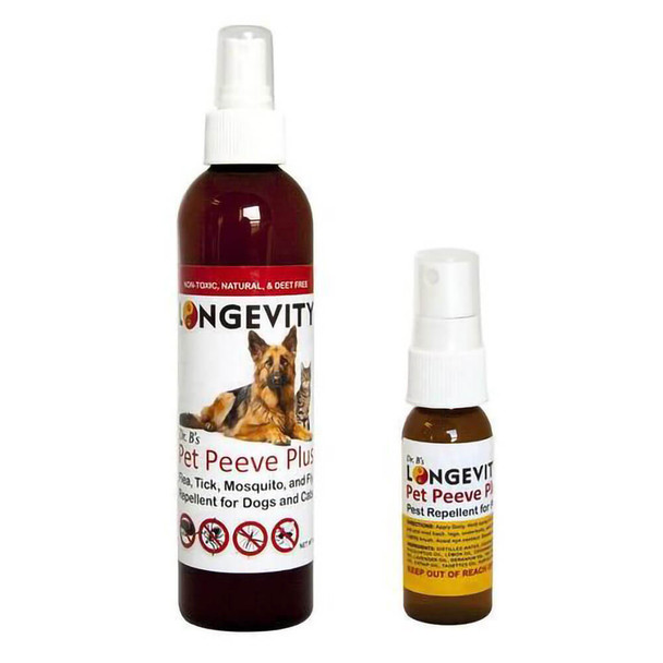 Longevity Dr. B's Pet Peeve Plus Flea and Tick Spray