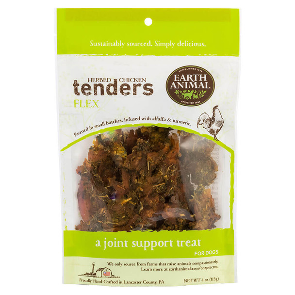 Earth Animal Herbed Chicken Tenders Flex Formula