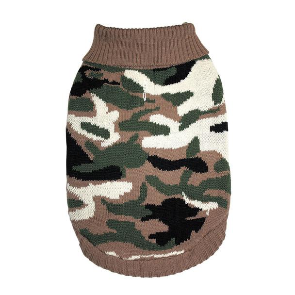 Fashion Pet Camouflage Dog Sweater