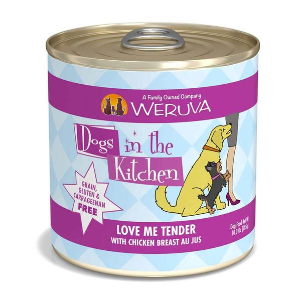Weruva Dogs in the Kitchen Love Me Tender Canned Dog Food