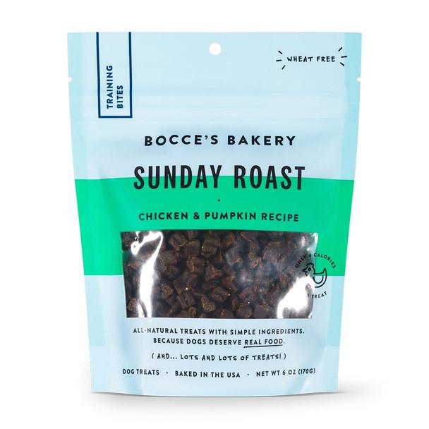 Bocce's Bakery Sunday Roast Training Bites Dog Treats 6oz